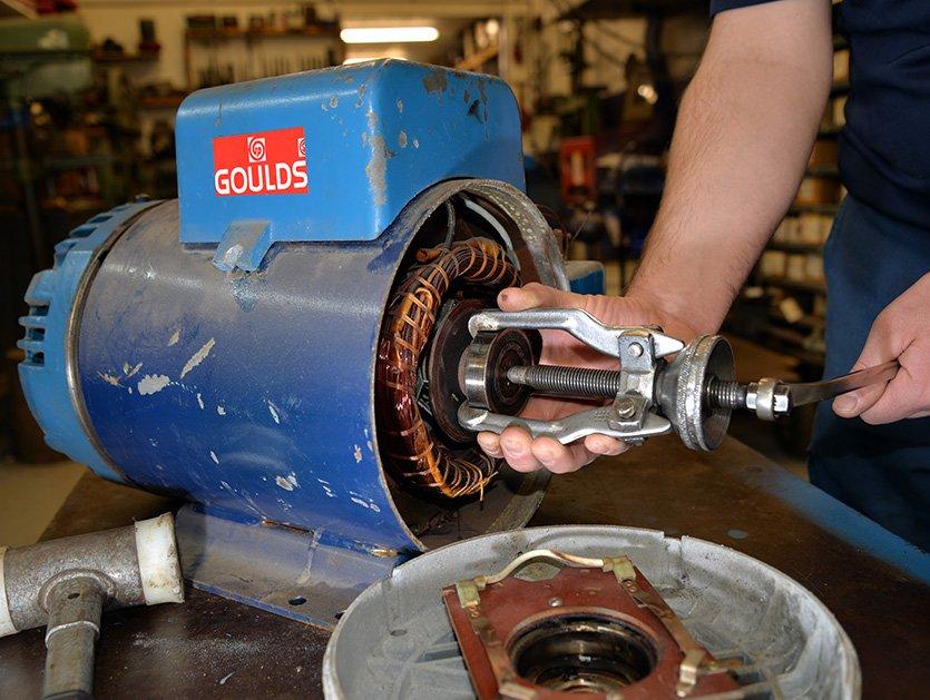 Réparation de moteurs électrique Bisson Service