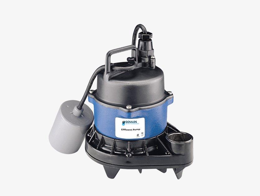 Pompes à effluent 3871 residentielle Gouds pumps