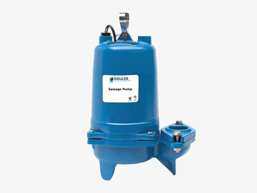 Pompe à eaux usées 3887 residentielle Gouds pumps